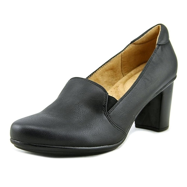 Naturalizer Womens Quill Leather Closed Toe Classic Pumps