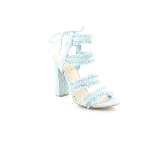 Guess Evira Women's Heels Blue Multi - 8.5