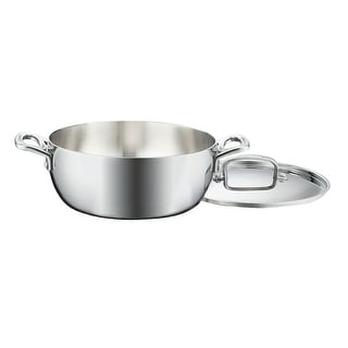 Link to Cuisinart FCT3545-24 French Classic Tri-Ply Stainless 4-1/2-Quart Dutch Oven with Cover Similar Items in Cookware