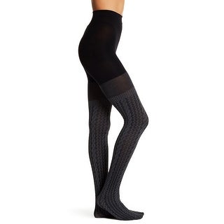 SPANX Cable Knit Over-the-Knee Tights Shapewear FH1215