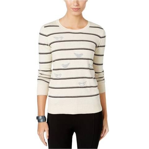 G.H. Bass & Co. Womens Bird Pullover Sweater