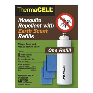 Thermacell E1 Mosquito Repellent w/ Earth Scent Refills Upto 12 Hours Effective Time