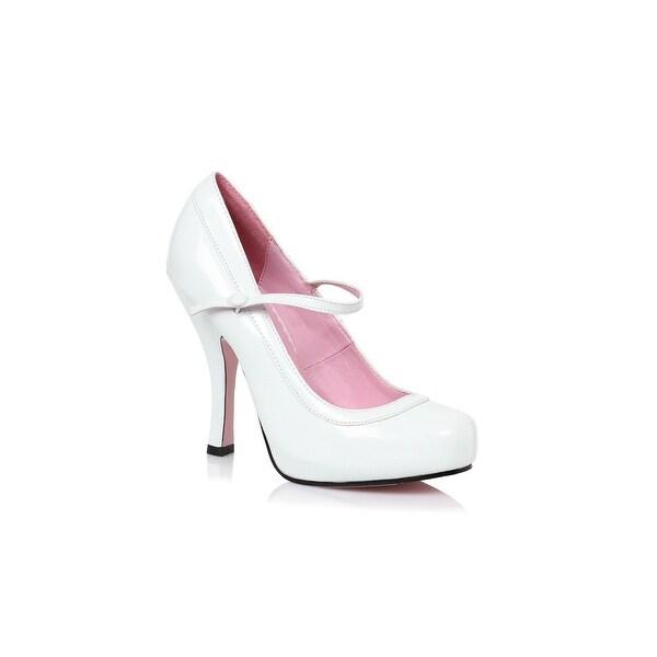Women's White Baby Doll Heels