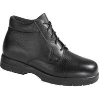 Drew Men's Tuscon Black Pebbled Leather