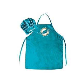 NFL Miami Dolphins Apron and Chef Hat