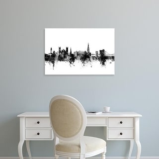 Easy Art Prints Michael Tompsett's 'Exeter England Skyline' Premium Canvas Art
