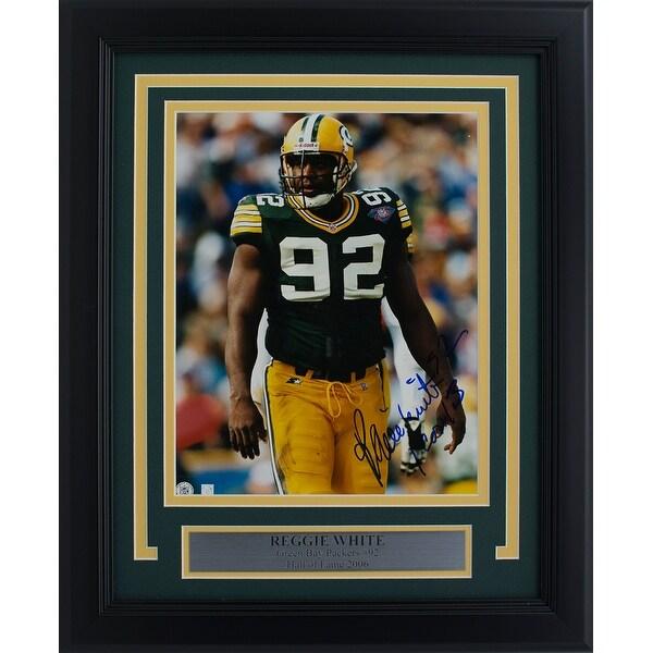 info for 02058 f9b23 Shop Reggie White Green Bay Packers Signed Framed 8x10 Photo ...