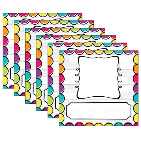 DIY Dots Picture Plates, 32 Per Pack, 6 Packs - One Size