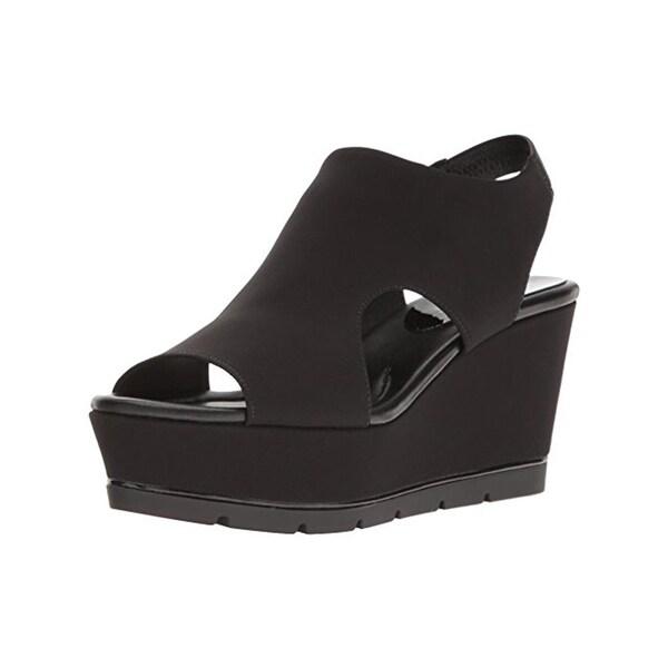 Donald J. Pliner Womens Fonda Wedge Sandals Casual Slingback - 7.5 medium (b,m)