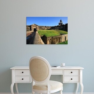Easy Art Prints Maresa Pryor's 'Old San Juan' Premium Canvas Art