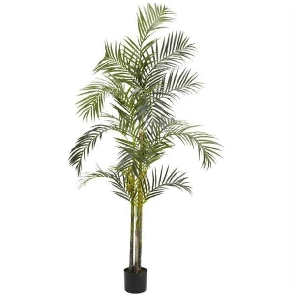 Nearly Natural Silk 5317 7 ft. Areca Palm Silk Tree