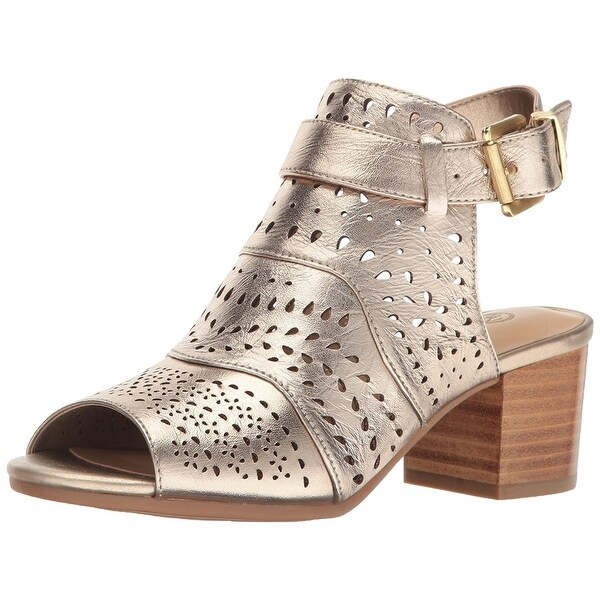Bella Vita Womens FONDA Leather Open Toe Casual Slingback Sandals
