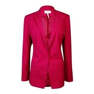 Laundry by SHELLI SEGAL Women's Single Button Peaked Blazer - 10