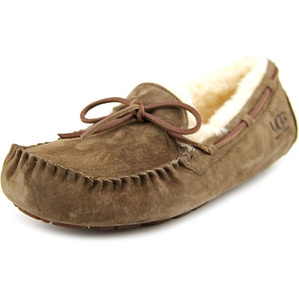 Ugg Australia Dakota Women Moc Toe Suede Brown Slipper
