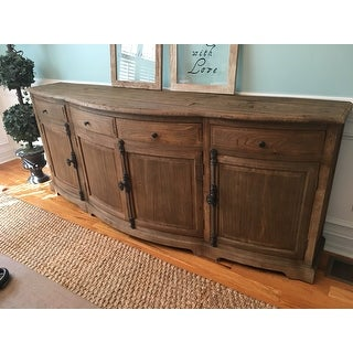 Benjamin Reclaimed  Wood Natural 87-inch Sideboard by Kosas Home