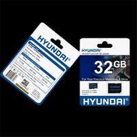 Hyundai Technology  32GB Micro SDHC Cl10 U1 Flash Card with Adapter