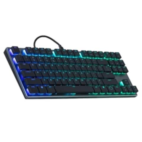 Coolermaster Keyboard SK-630-GKLR1-US SK630 Cherry MX RGB Low Profile Switch USB Retail