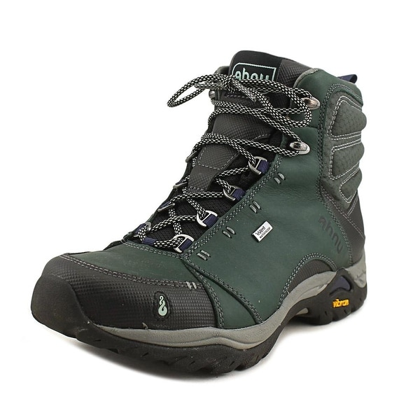 602b172f5a9 Shop Ahnu Montara Boot Wp Women Round Toe Leather Green Hiking Boot ...