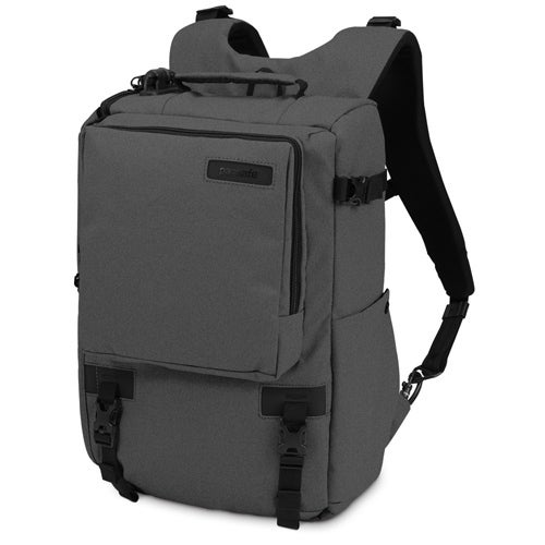 Pacsafe Camsafe Z16 - Charcoal Anti-Theft Camera & 13 Laptop Backpack