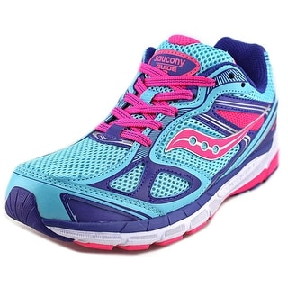 Saucony Guide 7 Youth Round Toe Synthetic Blue Running Shoe