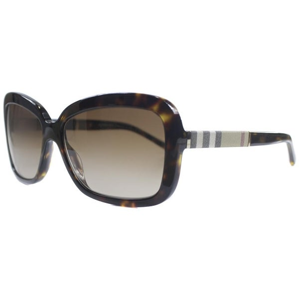 Burberry BE 4173 300213 Womens Havana Frame Brown Lens Sunglasses. Opens flyout.