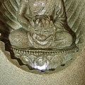 Alpine Buddha Tabletop Fountain with LED Lights - Thumbnail 3