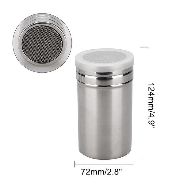 Flavoring Plastic Sugar Storage Spice Salt Pepper Mesh Shaker Jar Bottle