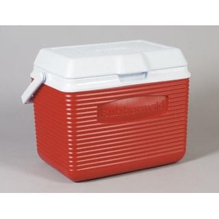 Rubbermaid 2A1104MODRD Red Victory Cooler, 10 Quart