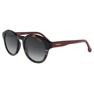 Carrera CARRERA 165/S 0O63-9O Havana Red Oval Sunglasses - 49-22-145