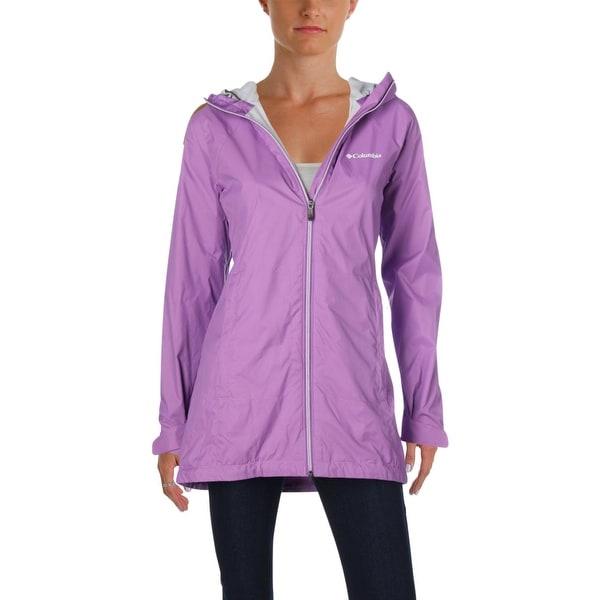 Shop Columbia Womens Water Resistant Coat Fall Rain - Free ...