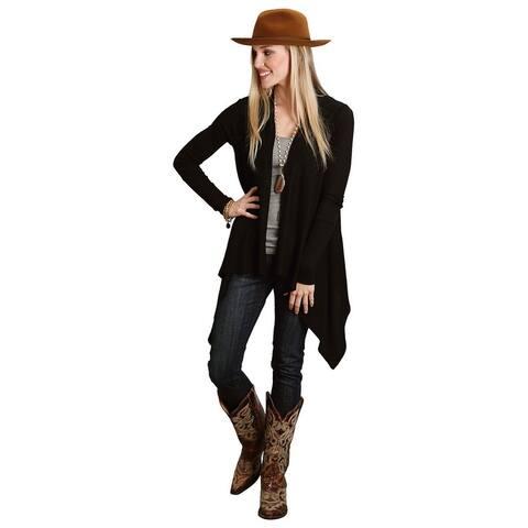 Stetson Western Sweater Womens Long Sleeve Black