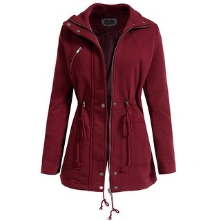 NE PEOPLE Womens Lightweight Jacket with Zipper and Button [NEWJ97]