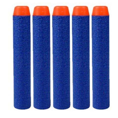 50PCS Foam Darts Bullets for Nerf Guns Toy Random color - Orange - 50cp