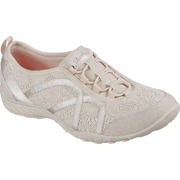 1172cc30 Skechers Women's Relaxed Fit Breathe Easy Elegant Glow Sneaker Natural