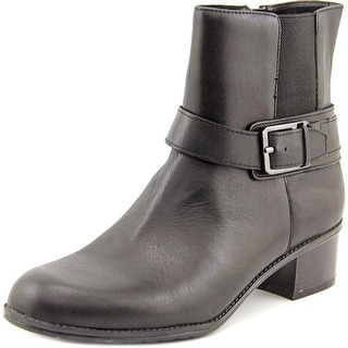 Bandolino Caven Round Toe Leather Ankle Boot