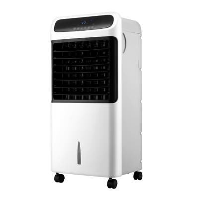 Zenova Portable Air Conditioner Cooler Fan Humidifier with LED Indicator&Temperature Display