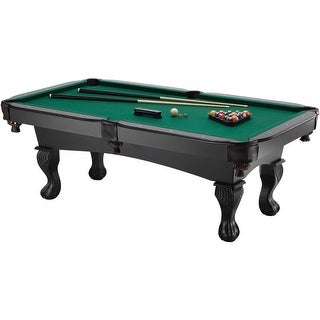 Fat Cat Kansas 7-foot Billiards Table with Ball and Claw Legs / Model 64-0147