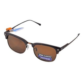 Peppers Polarized Sunglasses Dylan Tortoise Frame with Brown Lens