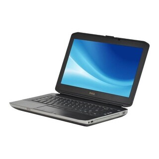 "Dell Latitude E5430 14.0"" Black Refurb Laptop - Intel i5 3320M 3rd Gen 2.6 GHz 6GB SODIMM DDR3 SATA 2.5"" 1TB DVD-ROM Win 10 Home"