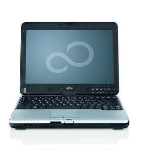 "Fujitsu LifeBook T4410 12.1"" Black & Gray Refurb 2-in-1 - Intel Core 2 Duo 2.53 GHz 4GB SODIMM DDR3 250GB DVD-RW Win 10 Home"