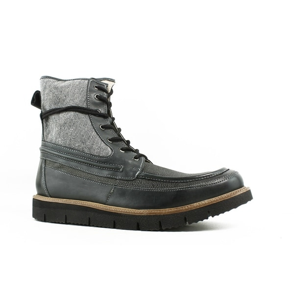 a1a1c5030a7 Shop Steve Madden Mens Redmund-001 Gray Ankle Boots Size 12 - Free ...