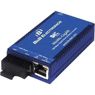 IMC 855-10730 B&B MiniMc-Gigabit, TX/SX-MM850-SC - 1 x RJ-45 , 1 x SC Duplex - 1000Base-T, 1000Base-SX