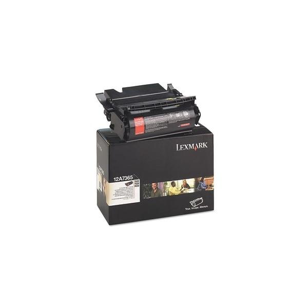 Lexmark Toner Cartridge - Black 12A7365 Toner Cartridge