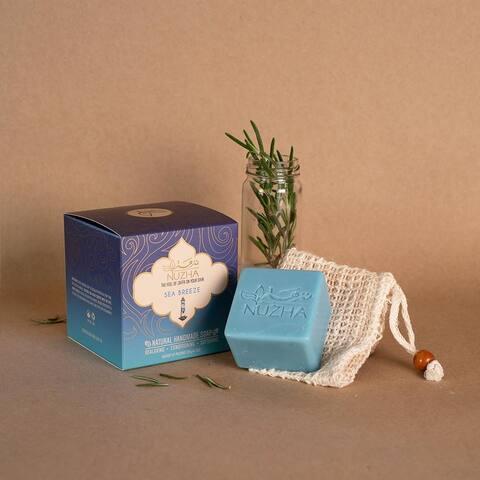 SEA BREEZE SOAP & NATURAL LOOFA Organic Vegan Handmade Soap Cruelty Free