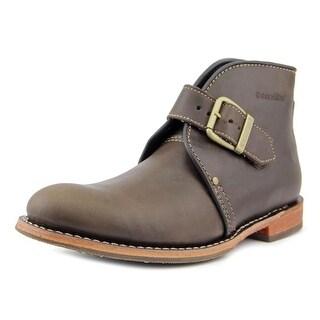 Caterpillar Haverhill Men Round Toe Leather Brown Boot
