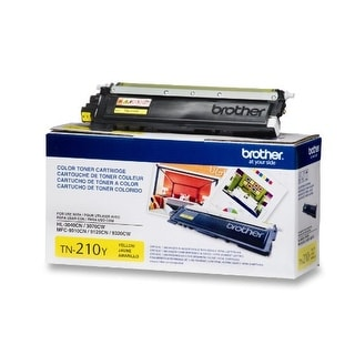 Brother International - Tn210y - Yellow Toner