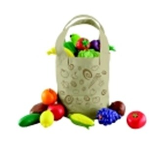 New Sprouts Fresh Picked Fruits And Veggie Tote Play Food Set