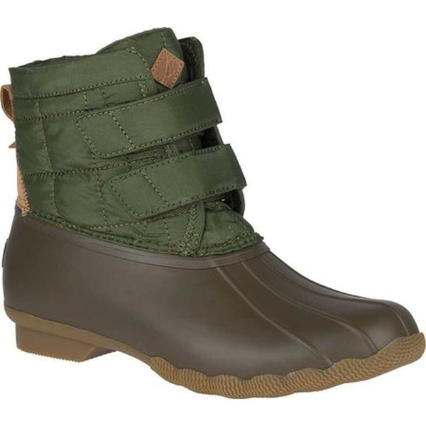 Saltwater Jetty Snow Boot Green