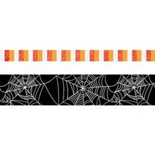 Halloween W/Gold Foil -Paper House Life Organized Washi Tape 5Mm & 15Mm 10M Each