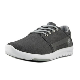 Etnies Scout Youth  Round Toe Canvas Gray Sneakers
